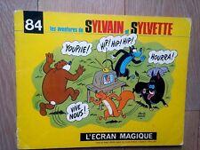 Sylvain et Sylvette     N° 84  L ECRAN MAGIQUE   Claude Dubois