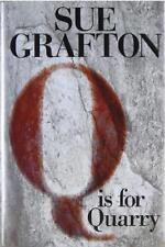 SUE GRAFTON Q IS FOR QUARRY SIGNED FIRST EDITION