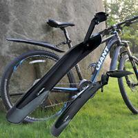 Bikes Mudguard Set MTB Fender E-Bike 26 27.5 29 Mountain Bike TPE Widen Lengthen