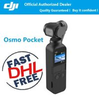 DJI Osmo Pocket Handheld Camera 3 Axis Gimbal Stabilizer 4K 60fps Video Lens Cam