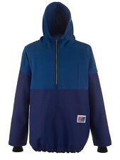 Fishing Oilskins PVC/Fleece Pullover, PVC Waterproof Jacket,Stormline 809 (XS)