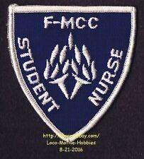 LMH PATCH Badge  F-MCC STUDENT NURSE Fulton Montgomery Community College FMCC NY