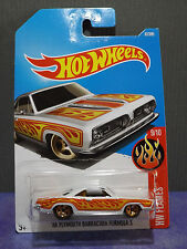 Hot Wheels New 2017 '68 PLYMOUTH BARRACUDA FORMULA S, HW FLAMES series 9/10.