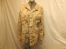 USMC Desert Digital Camo Shirt  w/ EGA   EA Industries Inc  Size  MEDIUM REGULAR