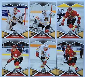2016-17 KHL SeReal collection 9 season Kunlun Red Star full base cards set 昆仑红星