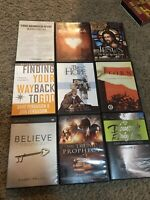 🔥9 Dvd Lot The Trump Prophecy Finding Your Way Back To God Believe Jesus Hope