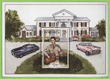 Dominica - $5 Elvis Presley miniature sheet MNH
