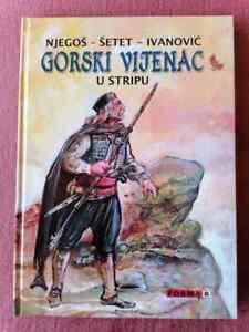 GORSKI VIJENAC Petar Petrović Njegoš Comic book - Latin NEW !!!
