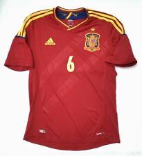 MAGLIA SPAGNA 2012 EURO INIESTA SHIRT SPAIN JERSEY INIESTA ESPANA EURO 2012