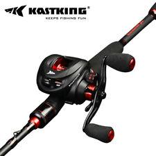 KastKing Spartacus Baitcasting Reel Freshwater Fishing Lure Reels - Right / Red