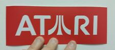 Atari Logo sticker. 3 x 8. (Buy 3 stickers, Get One Free!)
