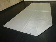 500g//qm weiß B-Ware 3,5€//m² PVC Folie Abdeckplane LKW Plane 10m x 1,10m ca