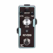 Electronic Reverb Mini Electric Guitar Effects Pedal True Bypass ENO EX Pedal