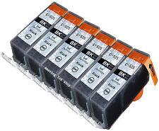 6 Compatible C525B Black 4 Ink Cartridge For Canon PGI-525 PG525 Pixma MX885 MX8