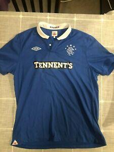 Rangers FC Jersey 2010 2011 Football Club Glasgow Scotland XL Gers