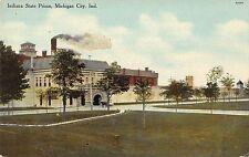 Indiana State Prison Michigan City Indiana c1910 Postcard
