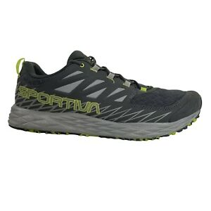 La Sportiva Lycan Trail Running Hiking Shoes Men's US Size 12 Gray And Green