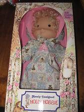 Beautiful Vintage Holly Hobbie Knickerbocker Doll Boxed APP 37 cm Height