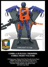Cobra NIGHT VULTURE GI Joe Convention 2016 Exclusive Boxed Set Mint Complete