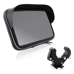 """Universal Bike Set für Tablet Motorrad Fahrrad Halterung Tasche Sonnendach 6"""" 7"""""""