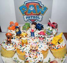 Nickelodeon PAW Patrol Figure Set of 12 Deluxe Mini Cake Toppers Cupcake