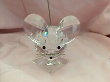 Swarovski Crystal King Mouse Figurine 7631NR60