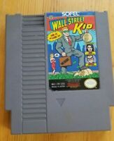 Wall Street Kid (Nintendo Entertainment, 1990) NES Authentic Cartridge Only!