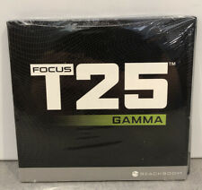 Brand New Sealed! Focus T25 Gamma Dvd Set Includes 2 Wall Calenders