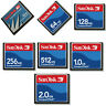 32,64,128,256,512MB,1GB,2GB SanDisk Standard CF Memory Card CompactFlash