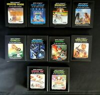 Vintage Atari 2600 Game Cartridge Lot Of 10 Haunted House, Defender, Warlords +