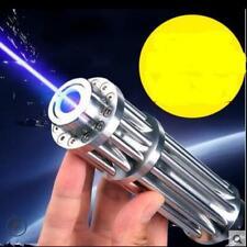 Blue High Power Laser 5000000m Pointers 450nm Lazer Burning Matc Flashlight Beam