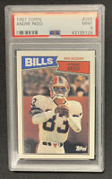1987 Topps Football #365 Andre Reed HOF PSA 9 Mint HOF Buffalo Bills 2nd year
