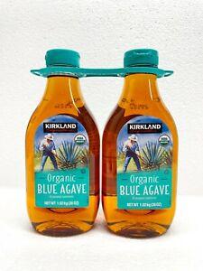 2 Pack of Kirkland Signature USDA Organic Blue Agave 36 oz 2 Count Sweetener