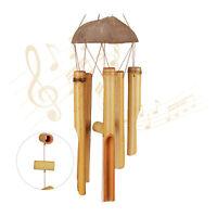 Windspiel Bambus, Gartendeko, Glockenspiel, Holz Mobile, Klangspiel, Wind Chimes