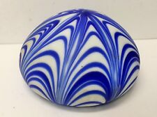 Vintage Art Glass Paperweight  No Makers Mark