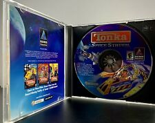 (TONKA SPACE STATION, PC CD-ROM, Windows, game, toys, kids, missions, Hasbro)