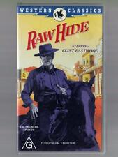 Raw Hide, The Premiere Episode  -  VHS Tape. - Clint Eastwood