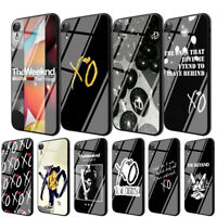 Hip hop The Weeknd TPU Glass Case for iPhone 8 7 6 6S Plus 5 X XS 11 Pro Max XR