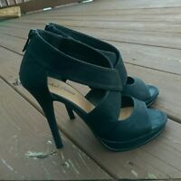 Michael Antonio Black High Heels Size 7