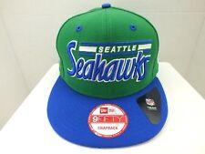 SEATTLE Seahawks Hat Cap Retro SNAPBACK NEW ERA 9FIFTY MENS NFL FOOTBALL