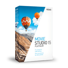 MAGIX Vegas Movie Studio 15 Platinum  *NEW* Download - Sony Video Editing