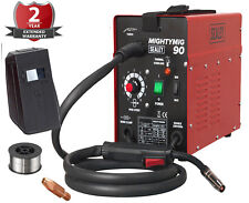 NEW Sealey MIGHTYMIG90 Professional No-Gas MIG Welder 90Amp 230V Kit Compact