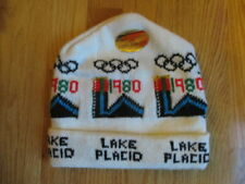 1980 LAKE PLACID Winter OLYMPIC GAMES Knit Cap (NEW) MIRACLE ON ICE