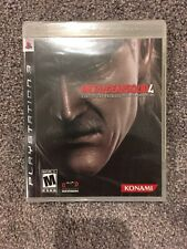 NEW FACTORY SEALED Metal Gear Solid 4: Guns of the Patriots PS3