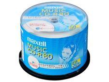 50 MAXELL Japon Vierge Cd-r pour Musique Audio CDR 80min White Label