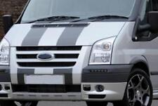 PRE CUT GUNMETAL FORD TRANSIT SPORT BONNET STRIPES DECALS STICKERS GRAPHICS ST