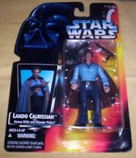 Vintage 1995 Star Wars Lando Calrissian Cloud City Figure, Very Good shape, MOC!