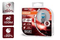 OSRAM Night Breaker® LASER NEXT GENERATION HB4 Sockel +150% mehr Sicht DuoBox