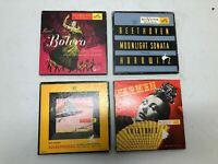 Vintage Lot 4 RCA Victor 45 Records Carmen Scheherazade Beethoven Bolero OLD