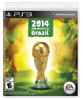 FIFA World Cup Brazil 2014 Sony PlayStation 3 PS3 Brand New Fctory Sealed Brasil